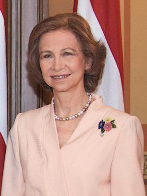 Reina consorte emérita. S. M. Dª Sofía de Grecia y Hannover