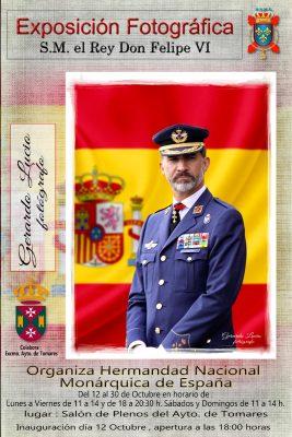 El próximo 12 de Octubre se inaugurará en Tomares (Sevilla), la exposición itinerante de fotografías del Rey Felipe VI