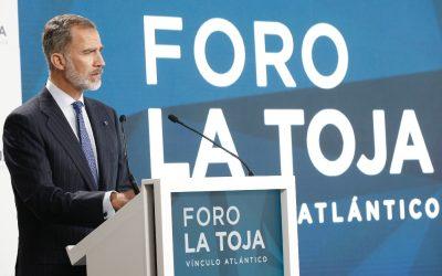 Su Majestad el Rey inauguró el «II Foro La Toja – Vínculo Atlántico»