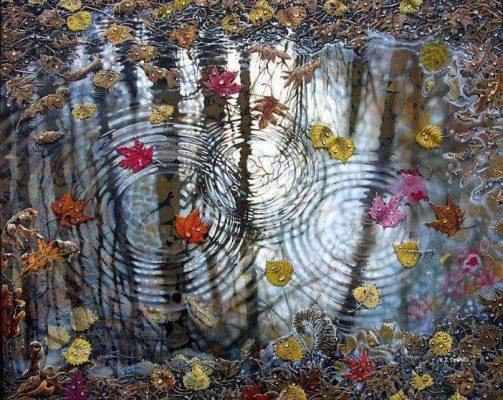 La lluvia circular