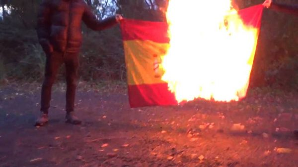 El Constitucional sentencia que el ultraje a la bandera española no es libertad de expresión