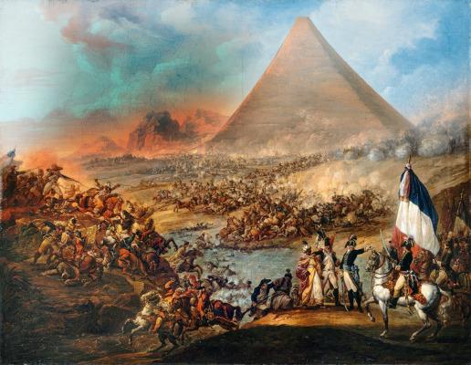 En este momento estás viendo Napoleón y la gran Pirámide