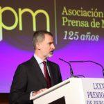 Lee más sobre el artículo Sus Majestades los Reyes entregan los premios de la Asociación de la Prensa de Madrid (APM) de las ediciones 2019 y 2020