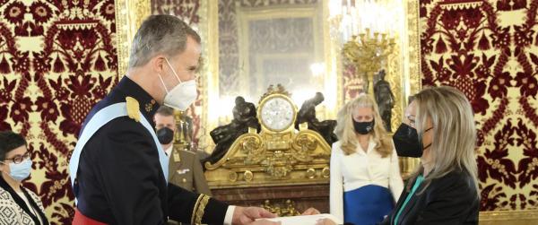 Su Majestad el Rey recibió las Cartas Credenciales de los nuevos embajadores de Hungría, Colombia, Tailandia, Bolivia, Bangladesh y Bulgaria
