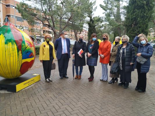 Pozuelo de Alarcón acoge la exposición Lemon Art formada por ocho limones de dos metros de altura