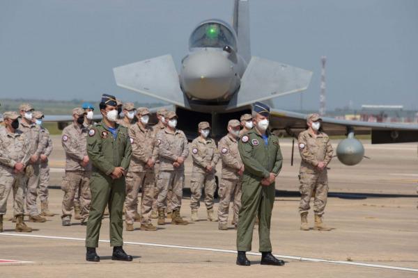 Repliegue del Destacamento Paznic a la base aérea de Morón
