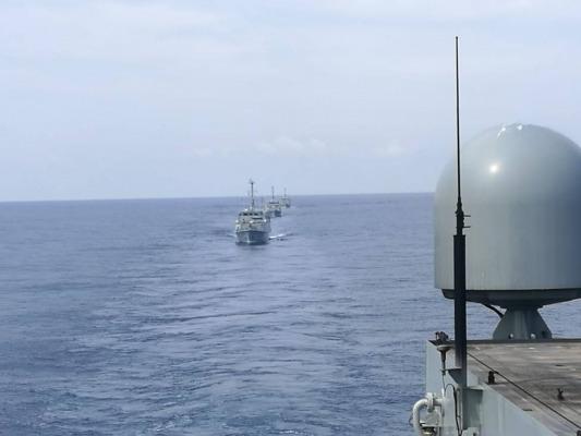 """Ejercicio Multinacional Avanzado """"ESP MINEX-21"""" en aguas del archipiélago balear"""