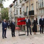 Sus Majestades los Reyes presidieron el acto de inauguración del Centro Memorial de las Víctimas del Terrorismo de Vitoria
