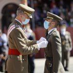 El Rey preside la entrega de Reales Despachos en la Academia General Militar