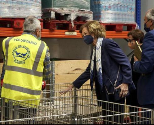 Lee más sobre el artículo Doña Sofía donará 30.000 euros para enviar alimentos y leche infantil a La Palma, en situación desesperada tras la erupción del Cumbre Vieja