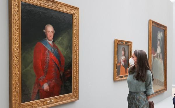 """En este momento estás viendo Su Majestad la Reina, que viajó a Suiza acompañada por el ministro de Cultura y Deporte, Miquel Iceta, inauguró la exposición """"Goya"""" en la Fundación Beyeler de Basilea (Suiza)"""